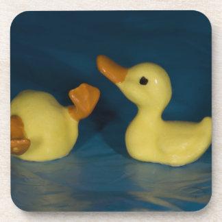 Ceramic Ducks Beverage Coasters