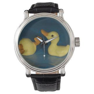 Ceramic Ducks Wristwatch