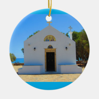 Ceramic Greek Orthodox Church Ornament
