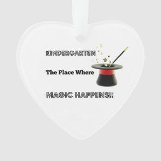 Ceramic Heart Ornament KindergartenMagic