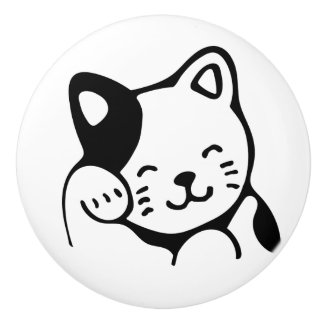 Ceramic Knob. Cat. Ceramic Knob