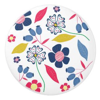 Ceramic Knob Mystery of Seasons