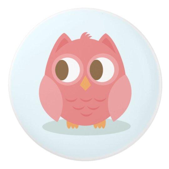 Ceramic Knob/Owl Ceramic Knob