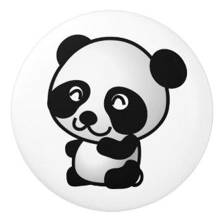 Ceramic Knob. Panda. Ceramic Knob