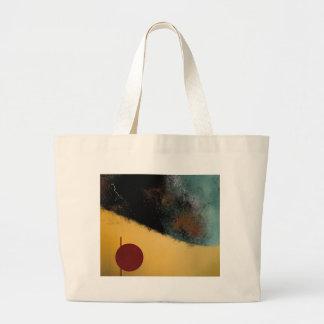 Ceramic Pixels Abstract pressionistiArt Jumbo Tote Bag
