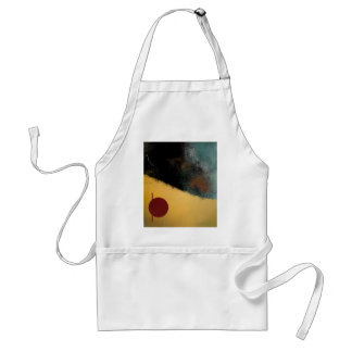 Ceramic Pixels Abstract pressionistiArt Standard Apron