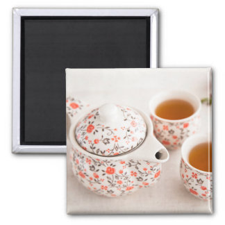 Ceramic Tea Set Magnet