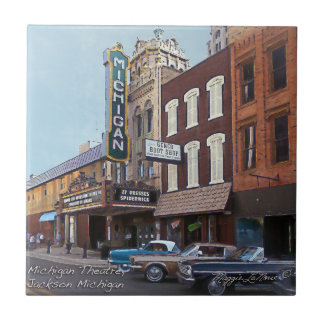 Ceramic Tile - Michigan Theatre Jackson Michigan
