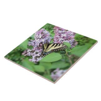 Ceramic Tile - (Mirrored Image) - ET Swallowtail