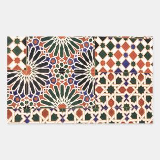 Ceramic tile mosaic design sticker