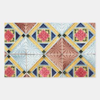 Ceramic tiles design sticker