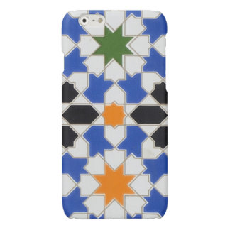 Ceramic tiles from Granada iPhone Case