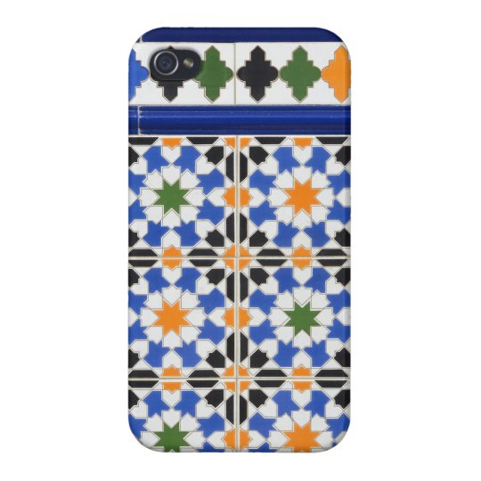 Ceramic tiles from Granada iPhone Case Covers For iPhone 4