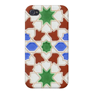 Ceramic tiles from Granada iPhone Case iPhone 4/4S Cases