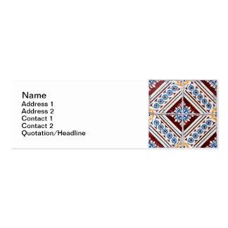 Ceramic tiles mini business card