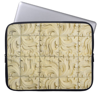 ceramic tiles pattern texture architecture stucco laptop sleeve