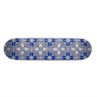 Ceramic tiles skateboard decks