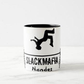 Ceramics mug two colors - 325 ml.