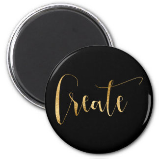 Cerate Make Do it Weekly Planner Home Office Glam 2 Inch Round Magnet