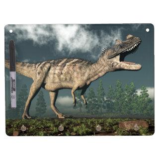 Ceratosaurus dinosaur - 3D render Dry-Erase Whiteboards