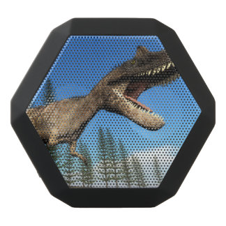 Ceratosaurus dinosaur at the shoreline - 3D render Black Bluetooth Speaker