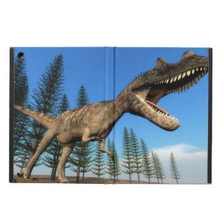 Ceratosaurus dinosaur at the shoreline - 3D render Cover For iPad Air