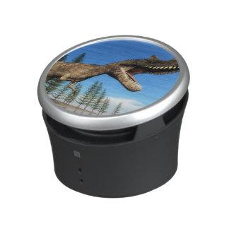 Ceratosaurus dinosaur at the shoreline - 3D render Speaker