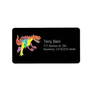 Ceratosaurus Address Label