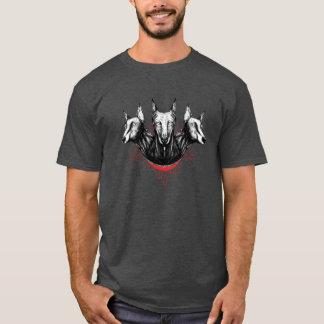 Cerberus Doberman Dog Design T-Shirt