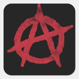 Cercle A d anarchie Autocollants