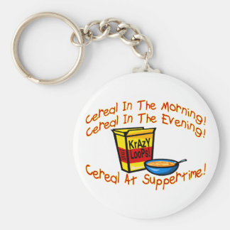 Cereal All The Time Keychain