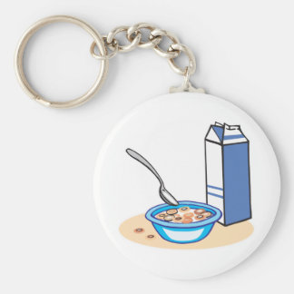 cereal and milk keychain