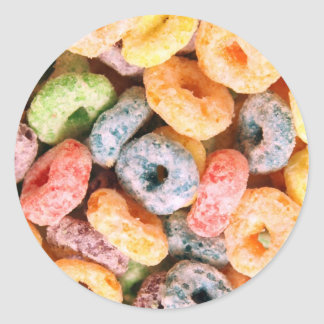 Cereal Classic Round Sticker