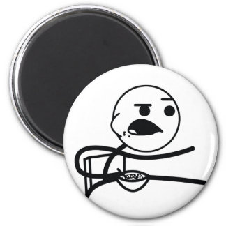 Cereal Guy 2 Inch Round Magnet