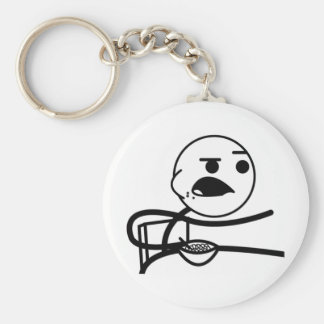 Cereal Guy !! Basic Round Button Keychain