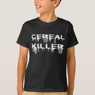 Cereal Killer Halloween Costume Tshirt