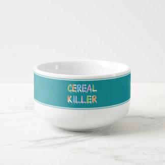 Cereal Killer Pun Cereal Bowl Soup Mug