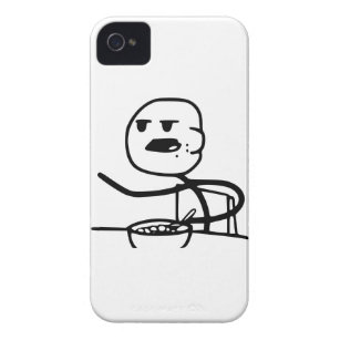 Cereal Meme Guy Case-Mate iPhone 4 Case