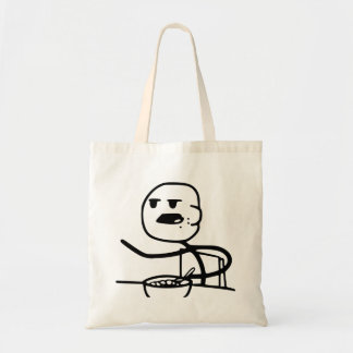 Cereal Meme Guy Tote Bag