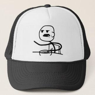 Cereal Meme Guy Trucker Hat