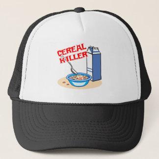 cereal serial killer trucker hat