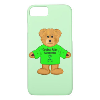 Cerebral Palsy Awareness: Teddy Bear in Sweater iPhone 7 Case