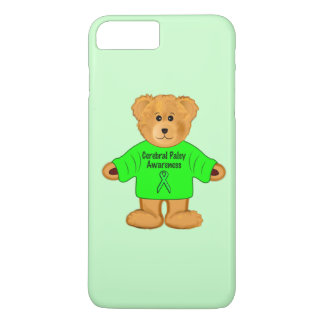 Cerebral Palsy Awareness: Teddy Bear in Sweater iPhone 7 Plus Case
