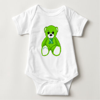 Cerebral Palsy Awareness Teddy Bear Products Baby Bodysuit