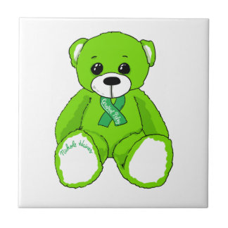 Cerebral Palsy Awareness Teddy Bear Products Ceramic Tile