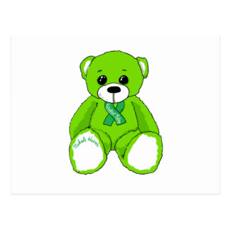 Cerebral Palsy Awareness Teddy Bear Products Postcard