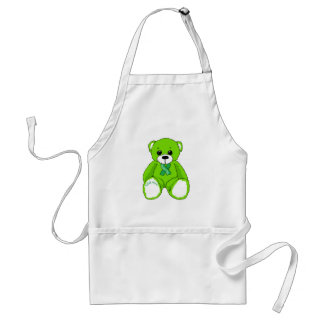 Cerebral Palsy Awareness Teddy Bear Products Standard Apron