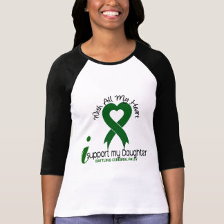 Cerebral Palsy I Support My Daughter T-Shirt