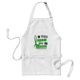 Cerebral Palsy I Wear Green For My Grandson 37 Standard Apron