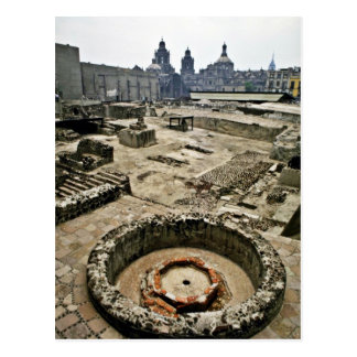 Ceremonial Area Of Templo Mayor, Mexico City Postcard